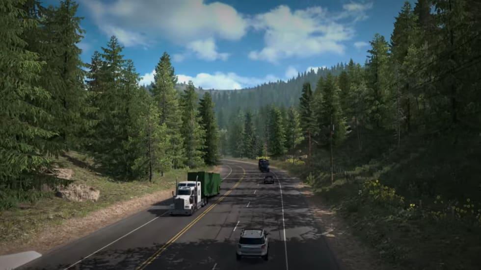 American Truck Simulator-uppdatering låter dig stiga ut och sträcka på benen!