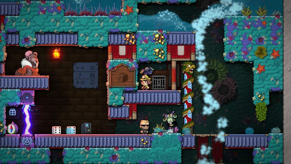 Spelunky 2 har äntligen fått online-multiplayer på pc