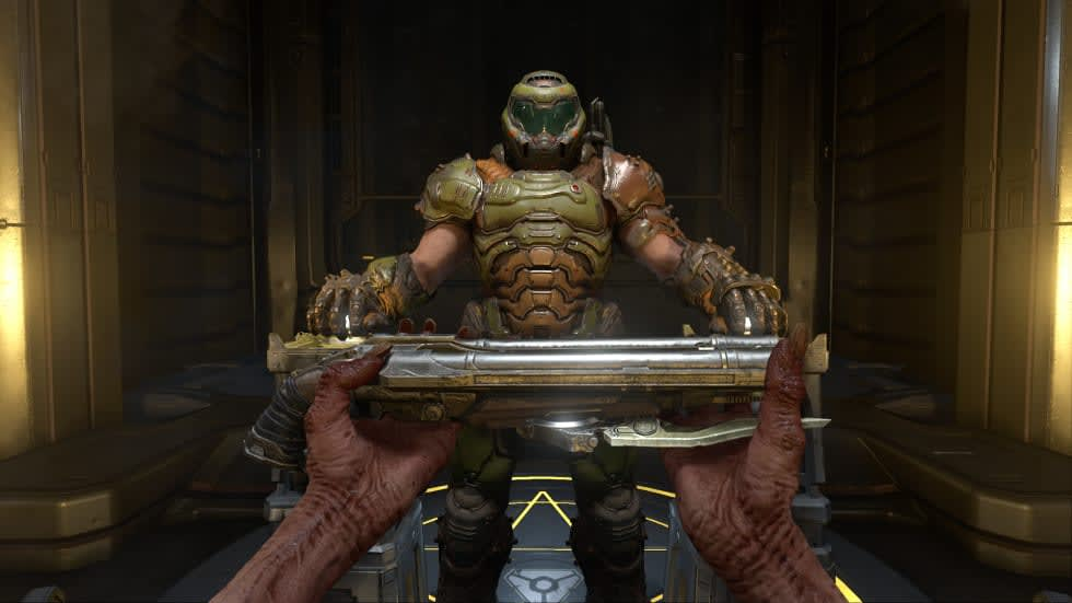 Nu kan du spela Doom Eternal i tredje person