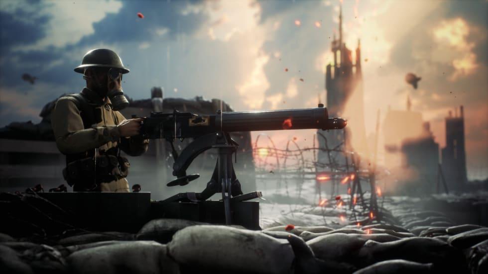 Första världskrigsspelet Beyond the Wire visar upp sig i gameplay-trailer