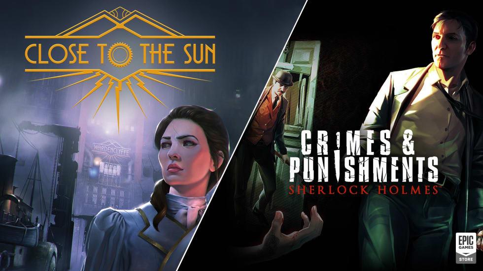 Sherlock Holmes och Close to the Sun är Epic-gratis nu