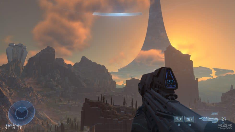 Halo Infinites nya lanseringsfönster är hösten 2021