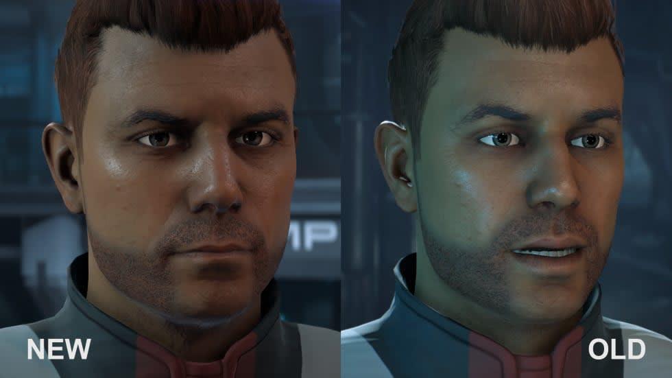 Så här ser ögonen ut efter nya Mass Effect-patchen
