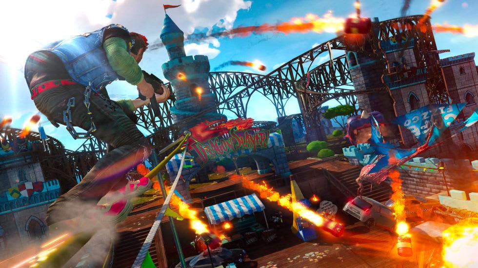 Sunset Overdrive har också släppts till Steam, saknar multiplayerdel
