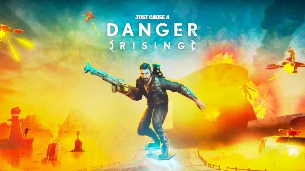 Just Cause 4: Danger Rising ger Rico en svävarbräda