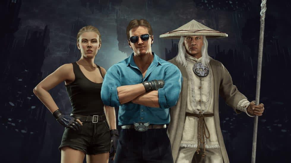 Mortal Kombat 11 välkomnar karaktärer från Mortal Kombat-filmen