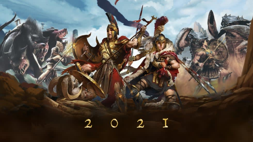 Handy Games antyder mer Titan Quest under 2021