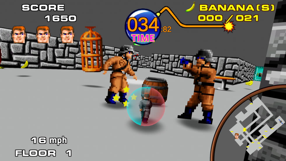 Wolfenstein möter Super Monkey Ball i bedårande fanspel