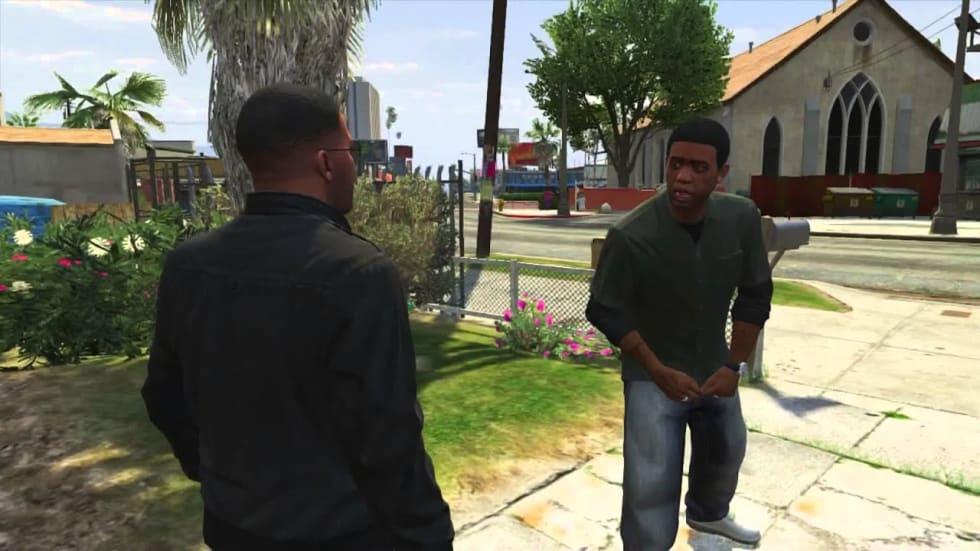 Röstskådespelare återskapar ikonisk Grand Theft Auto 5-scen