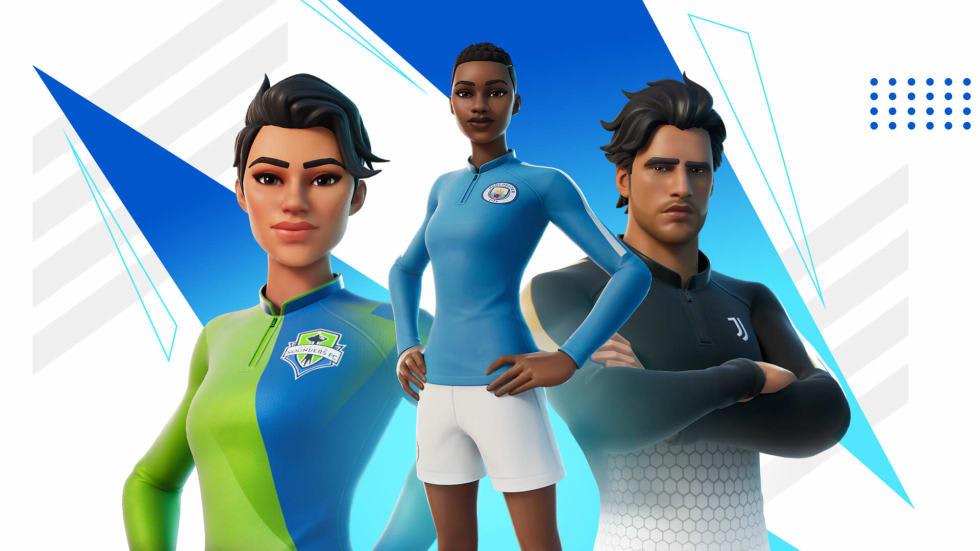 Fotboll kommer till Fortnite, inklusive Pelé-baserad emote!