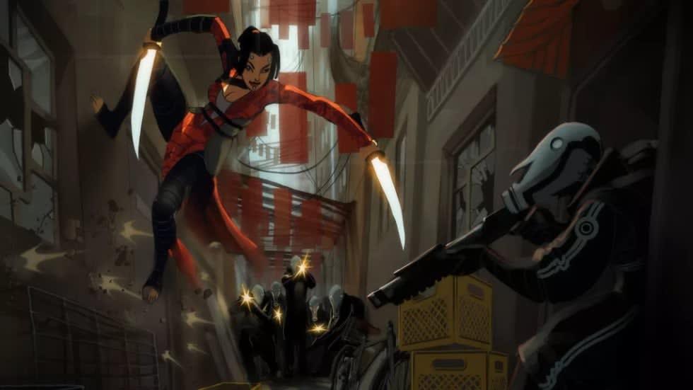 Kolla in konceptbilder från Revolver, Biowares nedlagda Jade Empire-uppföljare