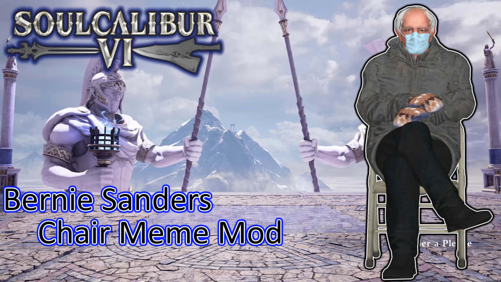 Nu kan du spöa upp Bernie Sanders i Soulcalibur 6