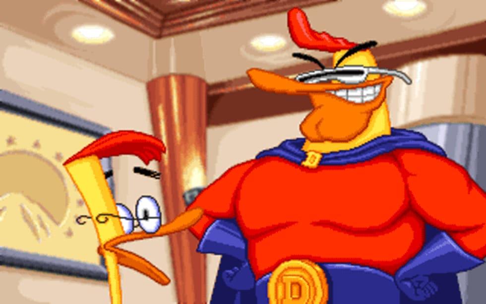 Duckman – Jakten på de försvunna spelen