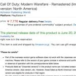 Alla tecken pekar mot en separat utgåva av Modern Warfare Remastered