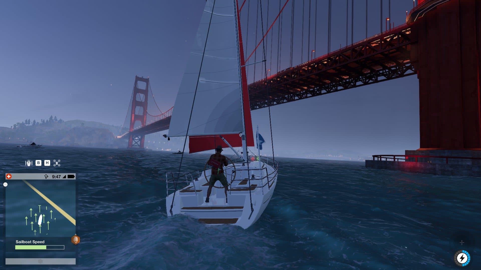 Golden Gate-bron på kvällskanten. Det är en fin stad.