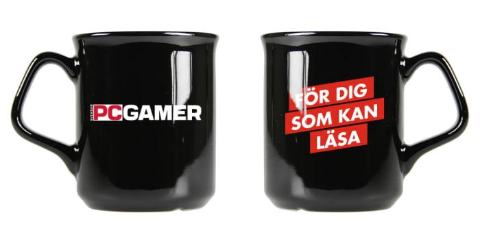 Bild på PC Gamers mugg.