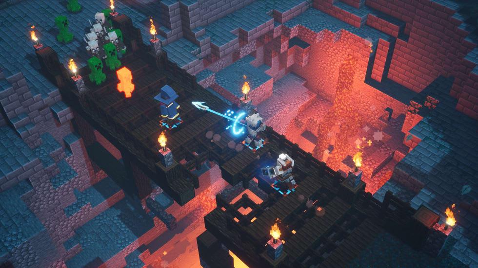 Bild från Minecraft Dungeons.