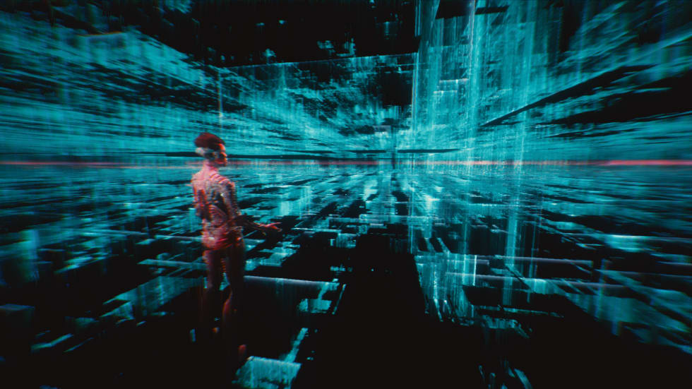 Bild från Cyberpunk 2077.