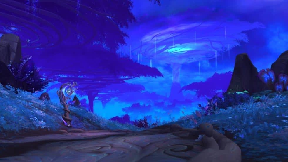 Bild från World of Warcraft: Shadowlands.