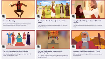 BBC Teach Pop Culture Bible Stories