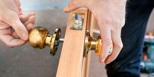 Door pop a lock locksmith