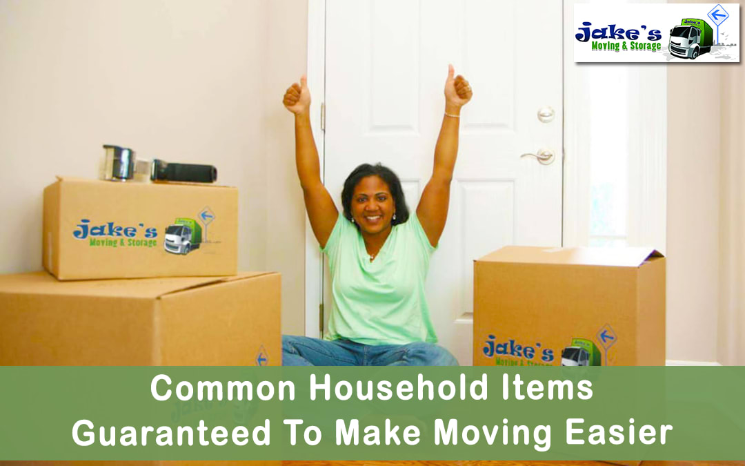 Common Household Items Guaranteed To Make Moving Easier - Jake's Moving and Storage