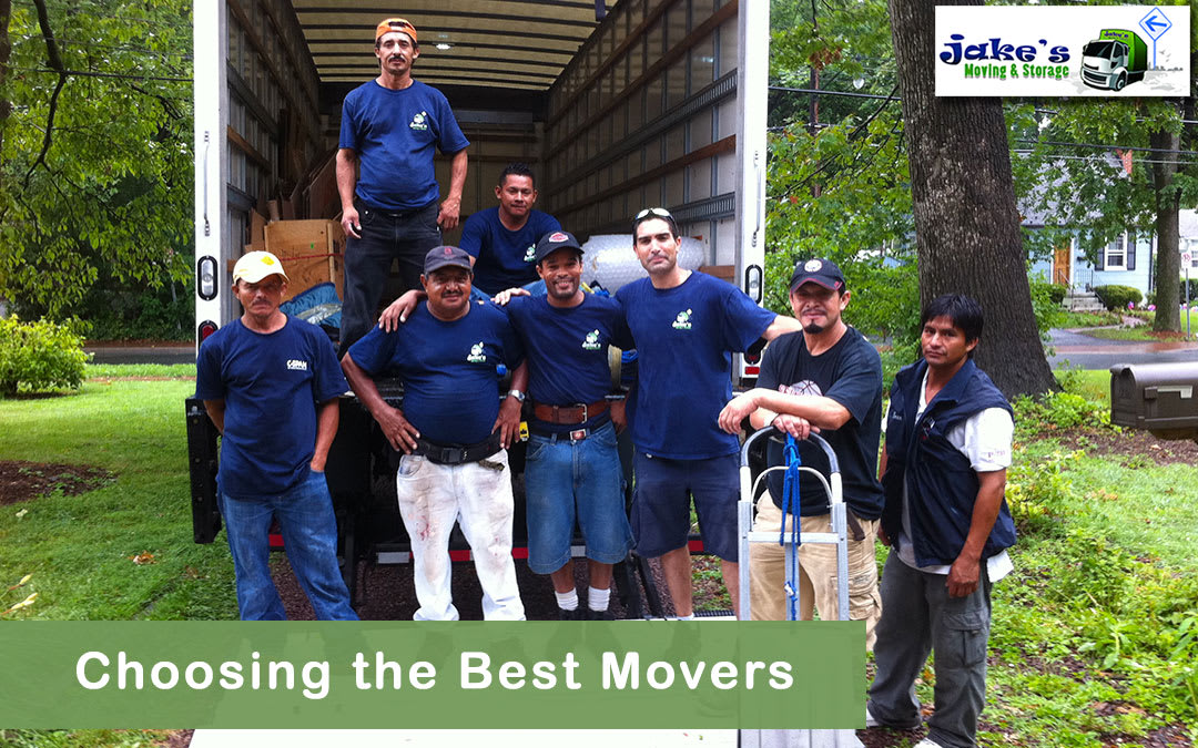 Choosing the Best Movers