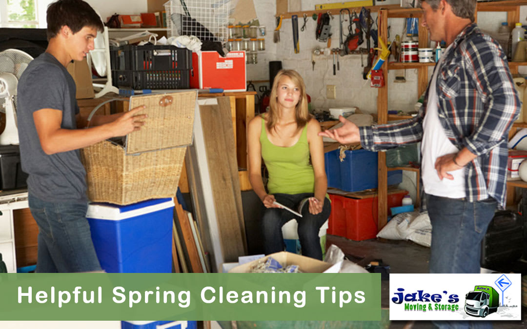 Helpful Spring Cleaning Tips - Jake's Moving and Storage
