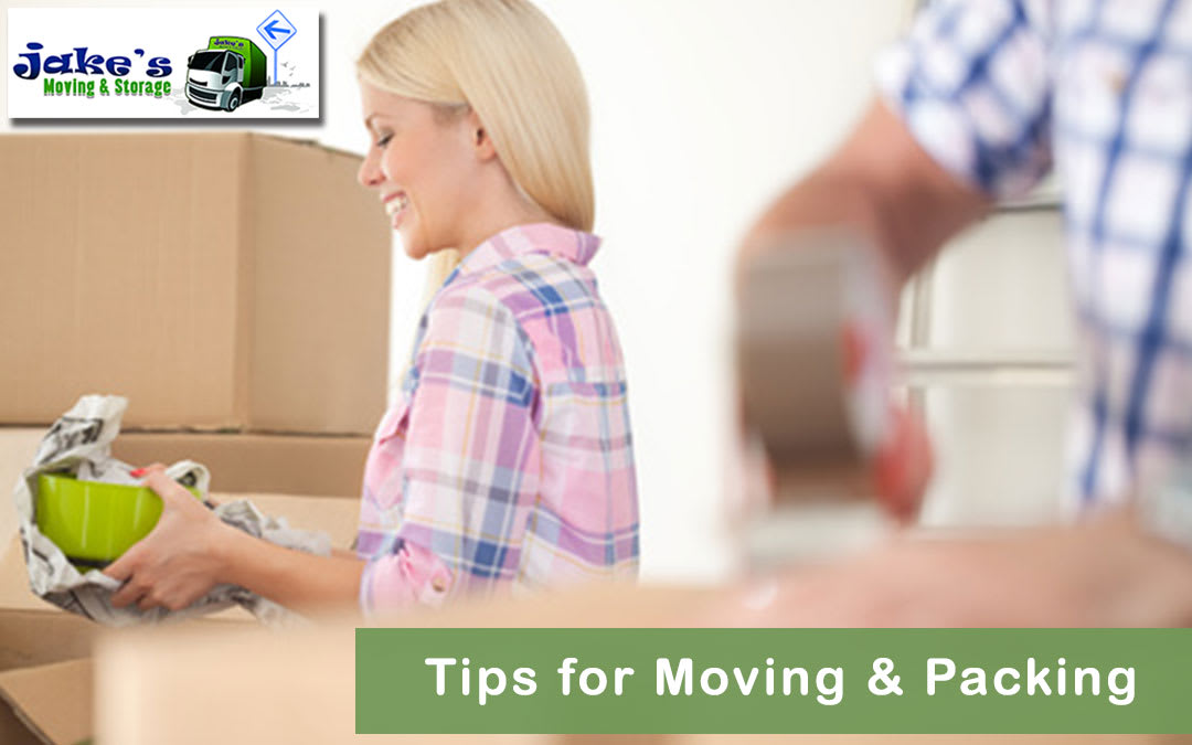 Tips for Moving & Packing - Jake's Moving and Storage