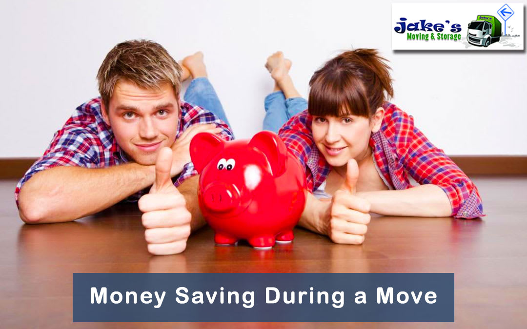 Money Saving During a Move - Jake's Moving and Storage