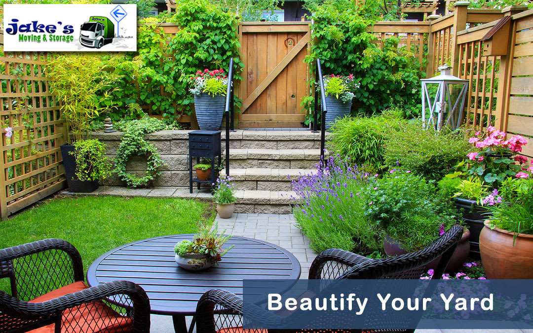 Beautify Your Yard - Jake's Moving and Storage