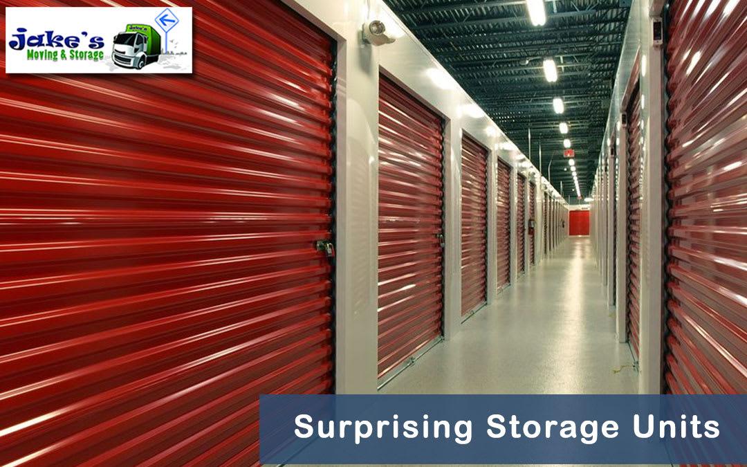 Surprising Storage Units - Jake's Moving and Storage