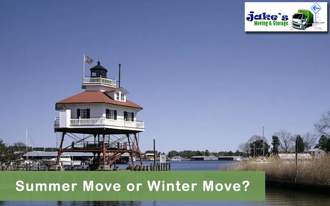 Summer Move or Winter Move? - Jake's Moving and Storage