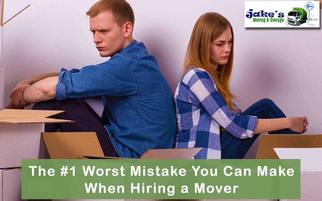 The #1 Worst Mistake You Can Make When Hiring a Mover