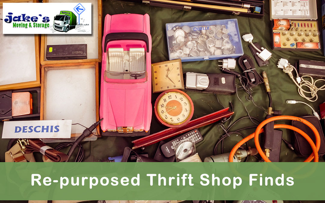 Re-purposed Thrift Shop Finds - Jake's Moving and Storage
