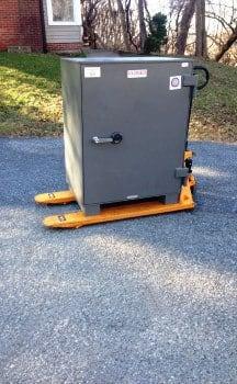 Brunswick County Virginia Moving a Safe