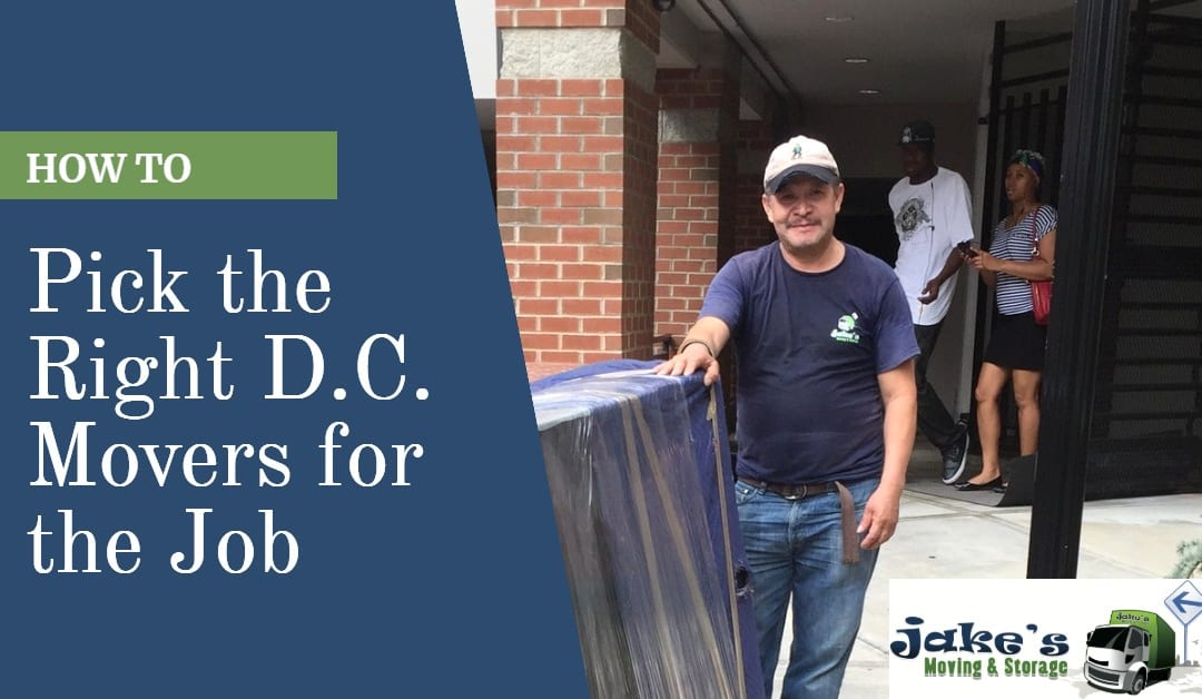 How to Pick the Right D.C. Movers for the Job
