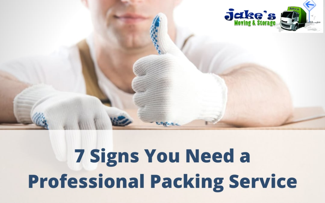 7 Signs You Need a Professional Packing Service