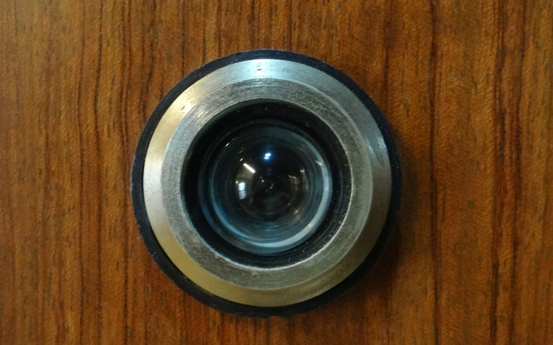 The Home Security Benefits of Installing a Front Door Peephole