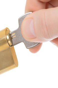 Profile Cylinder Locks installed in Austin