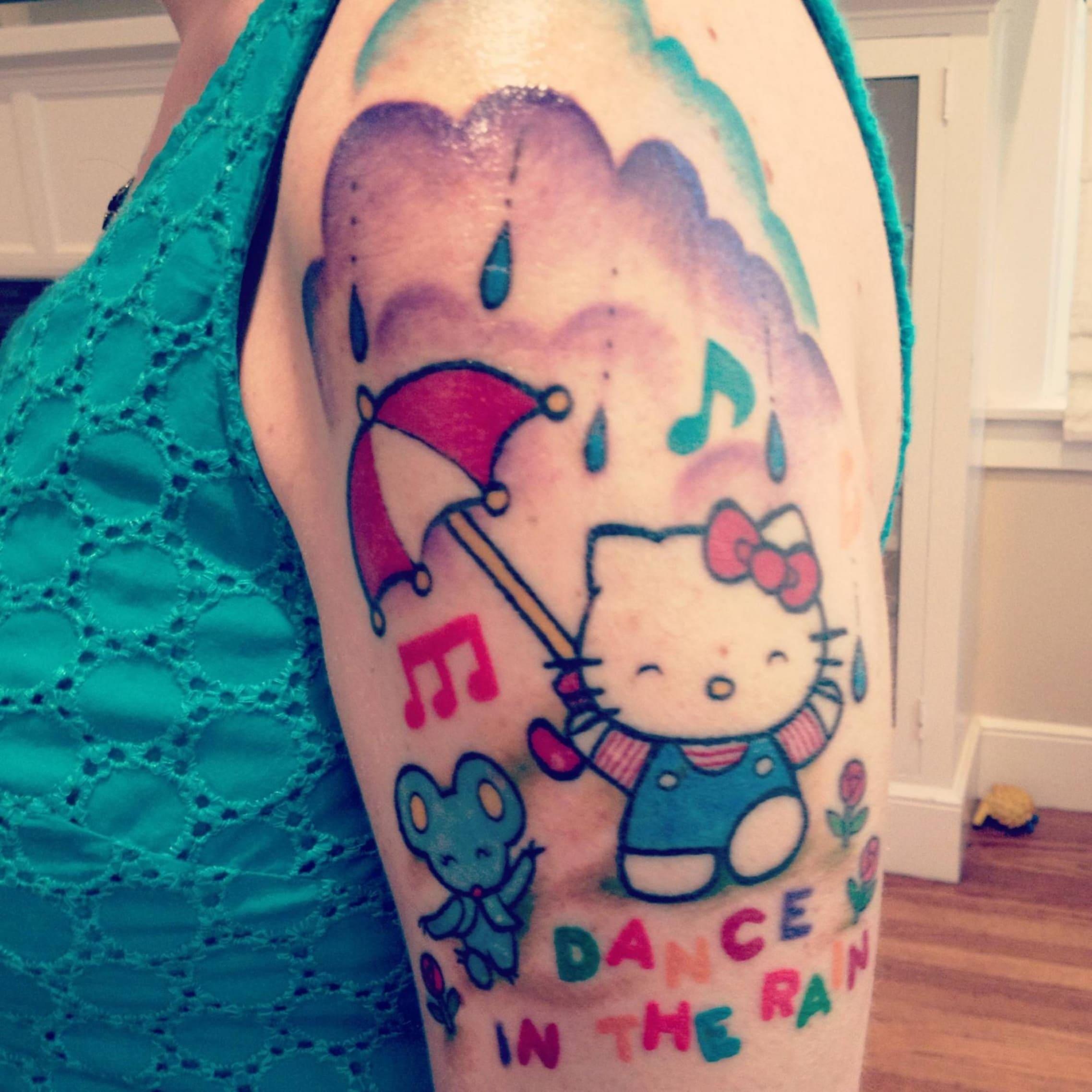 Tatuagem da Hello Kitty