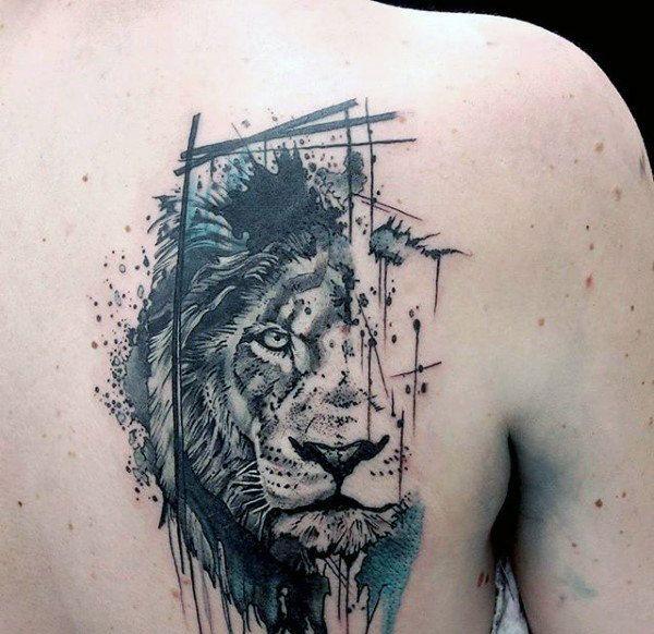 Significado de Tatuagens de Leão