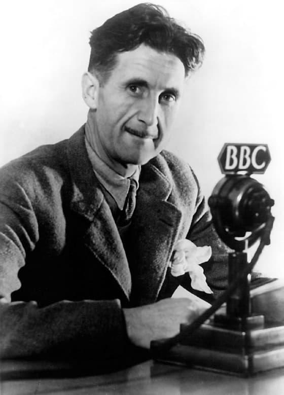 George Orwell - Figuras Históricas Tatuadas