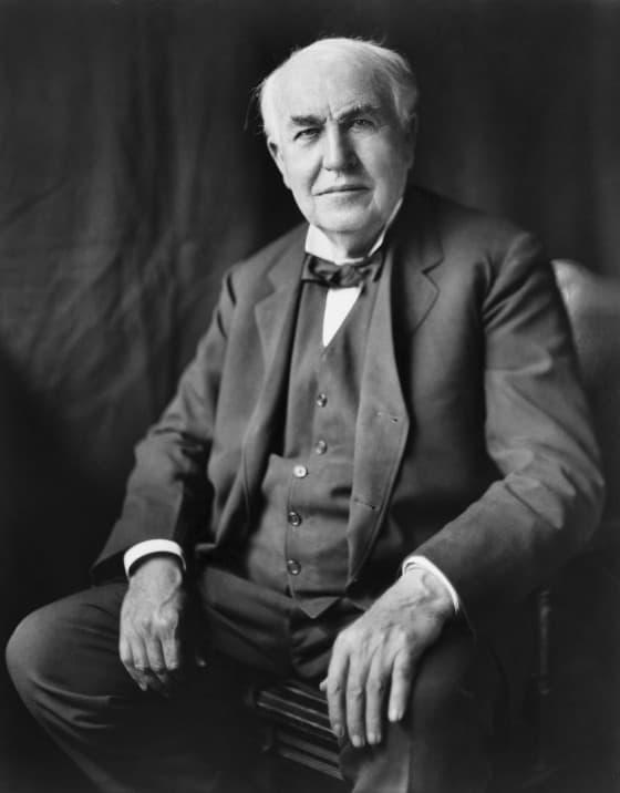 Thomas Edison - Figuras Histórias e tatuagens