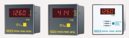 MECO 96QV32 Electronic Analog AC volt-amp-reactive Meter 3phase/3wire/2Element 90 Deflection (96*96)