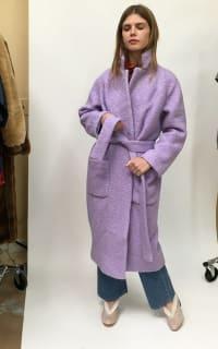 Ganni Fenn Coat Preview Images
