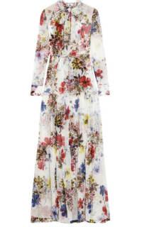 Erdem Floral long-sleeve dress Preview Images