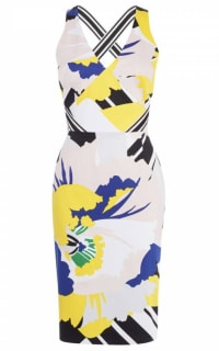 Karen Millen Evening Floral Dress Preview Images