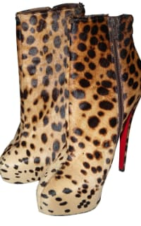 Christian Louboutin Leopard boots 2 Preview Images