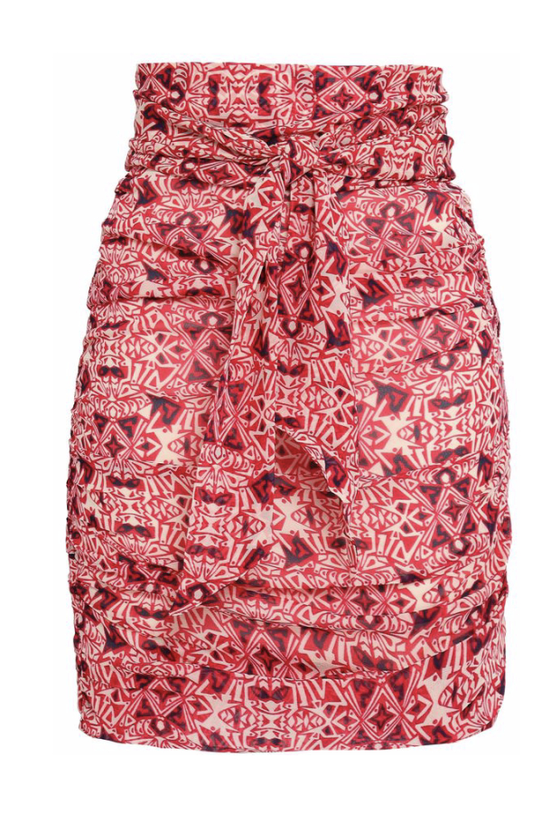 BA&SH Russo Knotted Skirt
